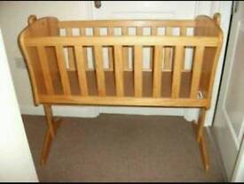Crib up to 6mths or longer