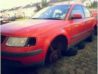 Breaking VW Passat 1.9 tdi 1998 and 1999