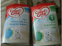 Cow & Gate baby formula sealed