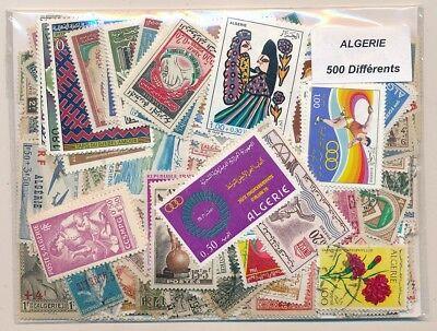 Argelia       US 500 sellos diferentes