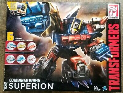 BRAND NEW TRANSFORMERS GENERATIONS COMBINER WARS 2016 G2 SUPERION BOXED SET