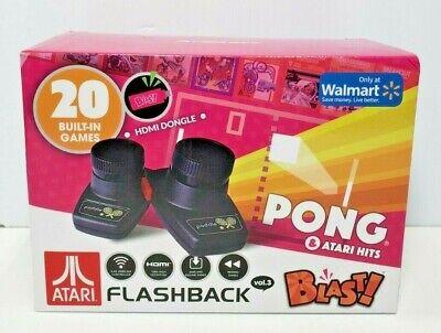 Atari Flashback Blast! Pong Retro Gaming System W/ 20 Games - Breakout Olympics