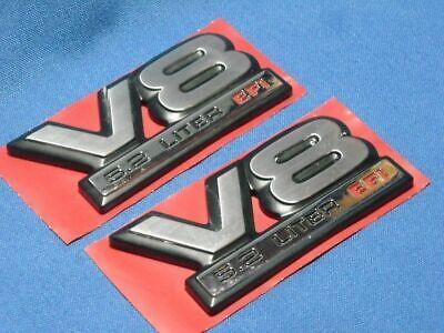 1989 - 1999 DODGE DAKOTA RAM TRUCK PICKUP V8 5.2 LITER EFI EMBLEMS PAIR NEW OEM
