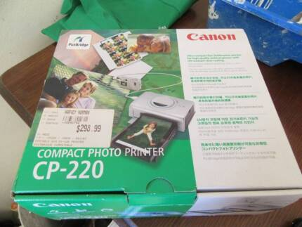CANON COMPACT PHOTO PRINTER CP-220 Hornsby Hornsby Area Preview