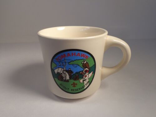 BOY SCOUTS OF AMERICA BSA COFFEE CUP TOMAHAWK SCOUT RESERVATION