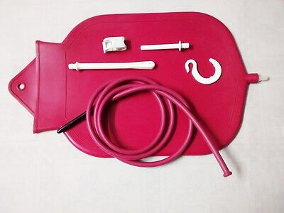 1 Gal Premium Fountain Style Personal Douche and Enema System Bag / BIG 4 qt