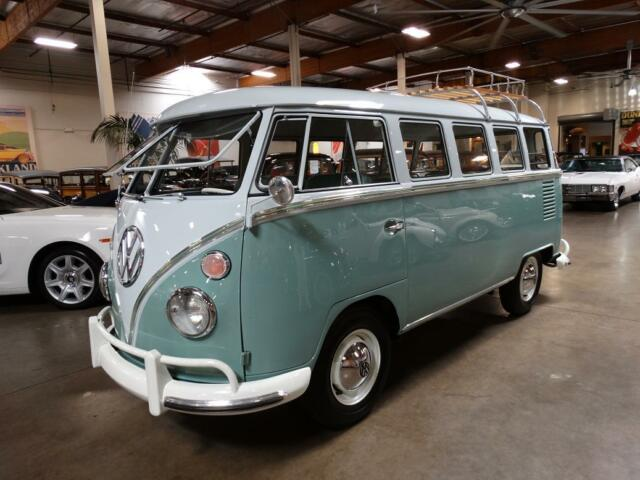 1963 volkswagen 15 window deluxe bus restored used for 1963 vw 23 window bus for sale