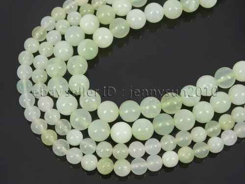 Natural New Jade Gemstone Round Spacer Loose Beads 15.5