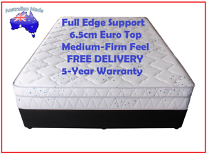 BRAND NEW Queen Sized Ensemble - Australian Made Mattress + Base