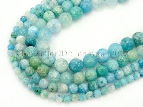 Natural Hemimorphite Gemstone Round Beads 15.5