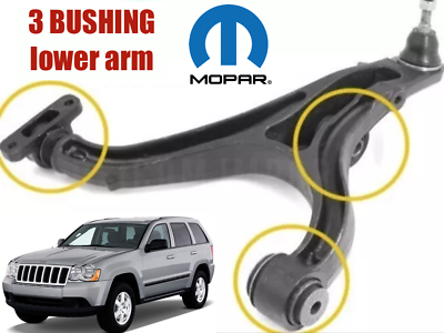 FRONT LOWER CONTROL ARM BUSHING FOR JEEP GRAND CHEROKEE 2011-2015 LEFT /& RH SIDE