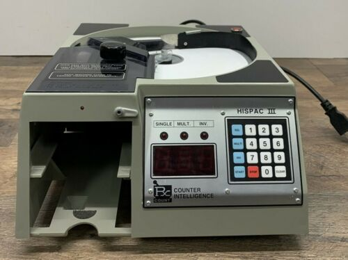 Rx Count Corp. Hispac III 3 Pharmacy Pill Counter Tablet Capsule Counter