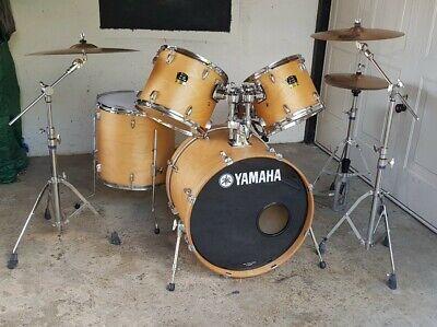 Yamaha Stage custom 5 piece drum kit - Natural Birch.