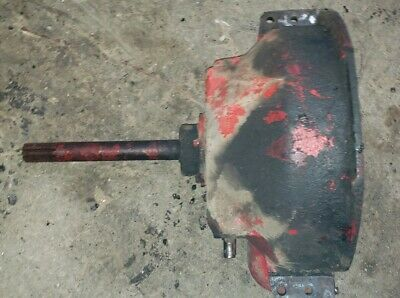 Massey Harris 44 Tractor Bellhousing Throw Out Imput Shaft Complete Mh