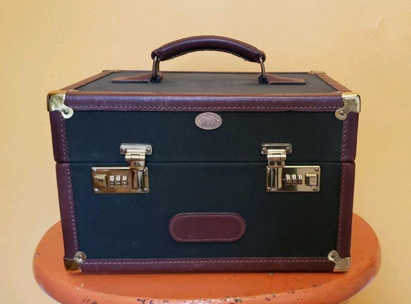 Vintage Orvis Hard Train Case Box Battenkill