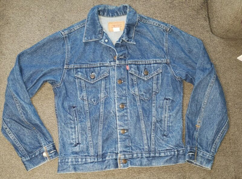 Levis Jean Jacket Youth Size 20 70706 vintage
