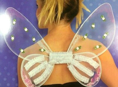 Disguise FAIRY WINGS Tinkerbell Fairies Mystical Costume Halloween Adult - A Fairy Costume