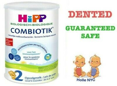 HiPP Bio Combiotic Infant Milk Stage 2 Dutch Version Free Shipping DENTED