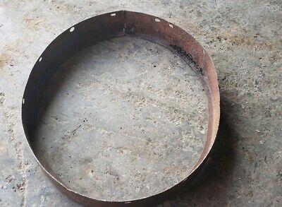 Mccormick Deering 1020 Tractor Front Steel Extension Ring Part Ihc Steel Wheel