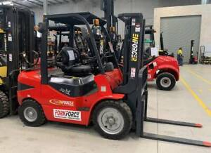USED 3.5T Enforcer LPG-Petrol Forklift Bayswater Knox Area Preview