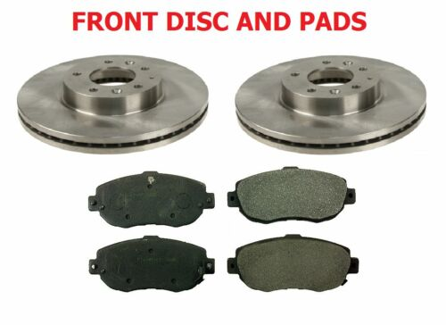 Lexus IS200 IS300 2.0i 3.0i 04/1999-12/2005 FRONT BRAKE DISC & PAD / PADS