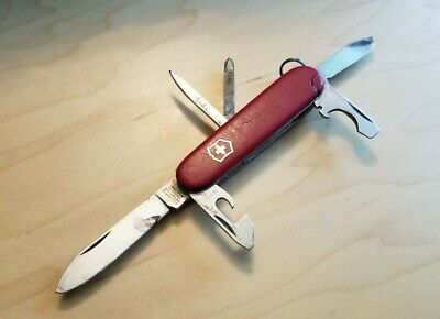 Vintage Victorinox Tinker Small 84mm Swiss Army Knife - Victoria Tang (READ) Y71