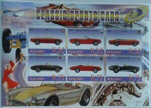 Classic automobiles vintage cars Maserati Corvette Alfa Romeo Malawi M965 IMPERF - Olsztyn, Polska - Classic automobiles vintage cars Maserati Corvette Alfa Romeo Malawi M965 IMPERF - Olsztyn, Polska