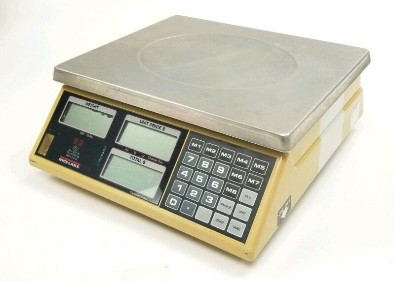 Rice Lake RS-130 Price Computing Retail Scale