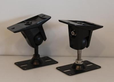 Omnimount Wall Brackets (Pair of Omnimount Systems 10.0 Speaker Wall Mounts Brackets 500045 REV A)