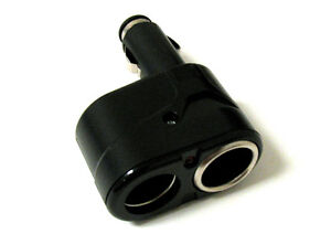 Dual-2-Socket-Splitter-Car-Cigarette-Lighter-Charger-Adapter