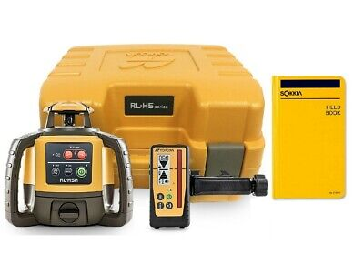 Topcon Rl-h5a Self-leveling Rotary Laser Level Field Book Ls-100d Receiver