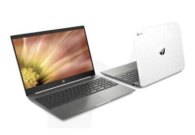 "HP 15-de0003na Chromebook 15.6"" Laptop, Core i5-8250U 8G RAM, 128GB 6QE53EA #"