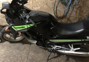 Starter bike Ninja 250 low kms cheap insurance