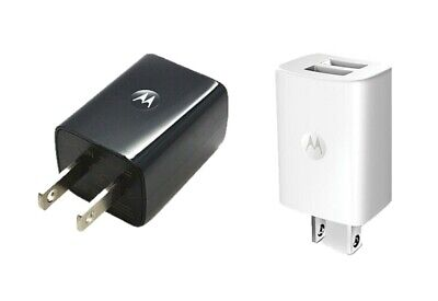 Dual Universal 2 Usb - OEM Motorola Universal Dual USB Power Adapter 2Port Wall Travel Charger SPN5797A