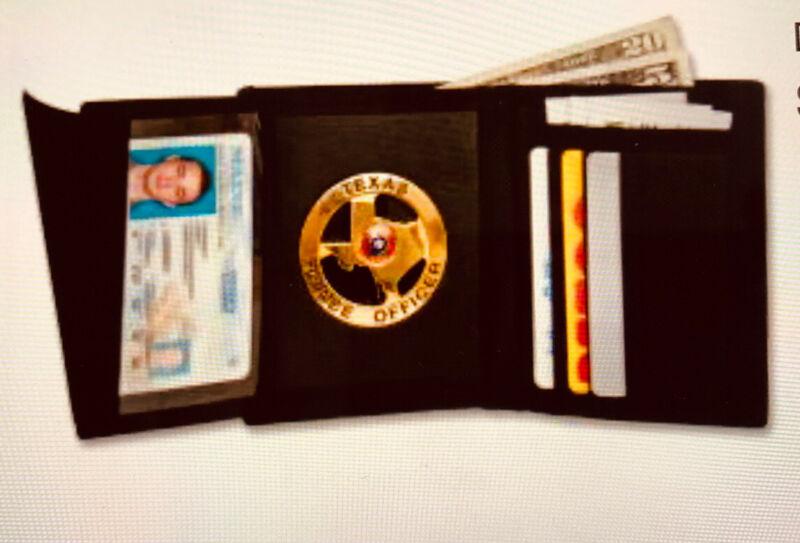 D&K Deluxe Nylon Recessed Hidden Badge Wallet