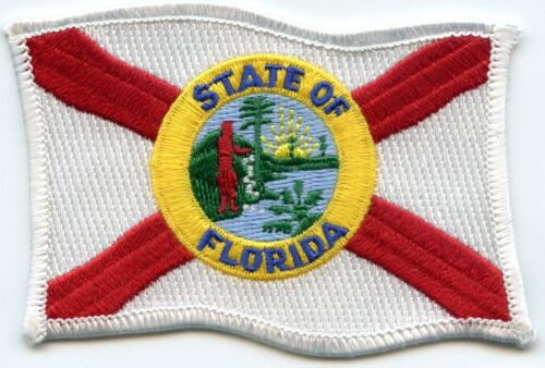 FLORIDA FL STATE FLAG style #B FLAG sheriff police PATCH