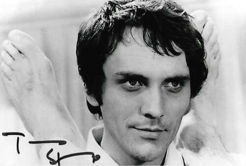 Terence Stamp auto Superman Star Wars Wall Street Movie Actor Rare COA LOOK!!