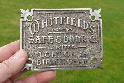 Safe Plaque Safe Plate