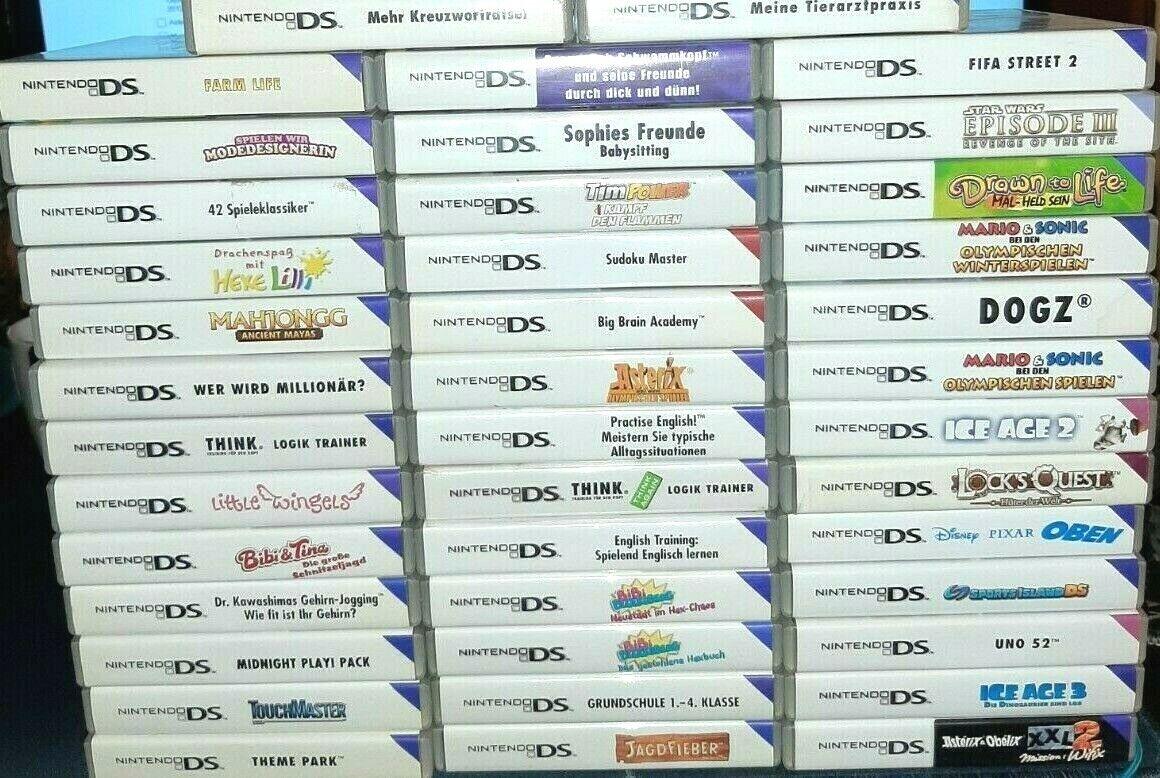 Spielesammlung wie Mario Sonic Zelda - Für Nintendo DS / 2DS / 3DS / DSi