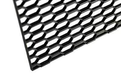 """16"""" X 47"""" UNIVERSAL BLACK THICK ABS HONEYCOMB MESH for GRILLE , BUMPER , PROJECT"""