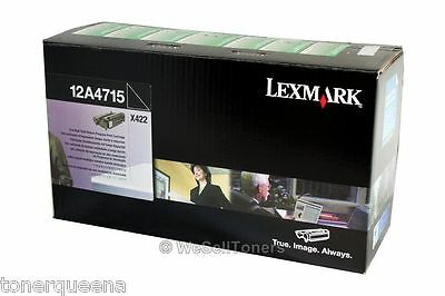 Genuine Lexmark X422 High Yield Toner Cartridge 12a3715 1...