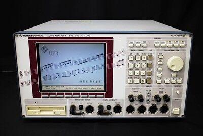 Rhode Schwarz Upd 013 Audio Analyzer