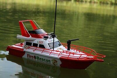 RC Feuerwehrboot FIRE BOAT 1 mit Sirene ferngesteuertes Schiff Boot Feuerwehr