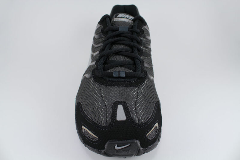 ... NIKE AIR MAX TORCH 4 BLACK SILVER ANTHRACITE GRAY RUNNING TRAINER US MENS  SIZES ... 19bc3905e