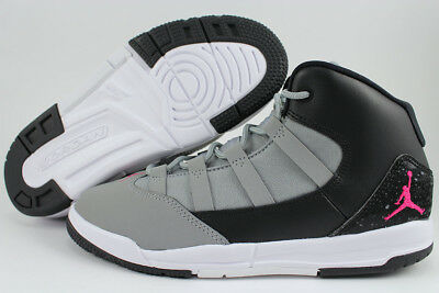 Nike Jordan Girl - NIKE AIR JORDAN MAX AURA GRAY/PINK/BLACK/WHITE RETRO 10 11 GIRLS KIDS YOUTH SIZE