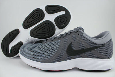 NIKE REVOLUTION 4 EXTRA WIDE 4E EEEE DARK GRAY/BLACK/WHITE RUNNING US MENS SIZES