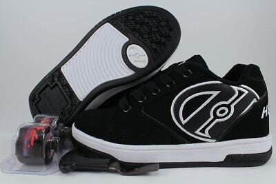 HEELYS PROPEL 2.0 BLACK/WHITE ROLLER SKATE WHEELS BOYS MENS US YOUTH SIZES Black Roller Skate Men