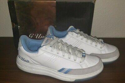 Reebok G Unit G6 Sneaker SZ 8 Baby Blue WHITE ICE RBK RARE SHOES W ORIGINAL BOX