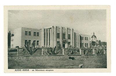 ADDIS ABEBA EX MINISTERO ETIOPICO ETIOPIA AFRICA ORIENTALE COLONIE D'ITALIA