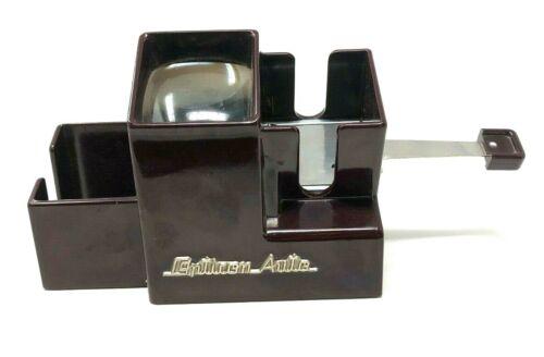 Opticon Plus Brown Bakelite Slide Viewer Vintage